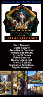 VIDEOART in ROME autumn 2020